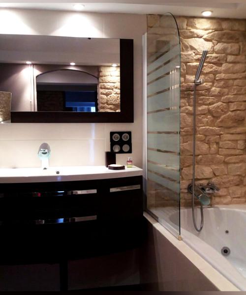 1 salle bain chambre d'hôtes