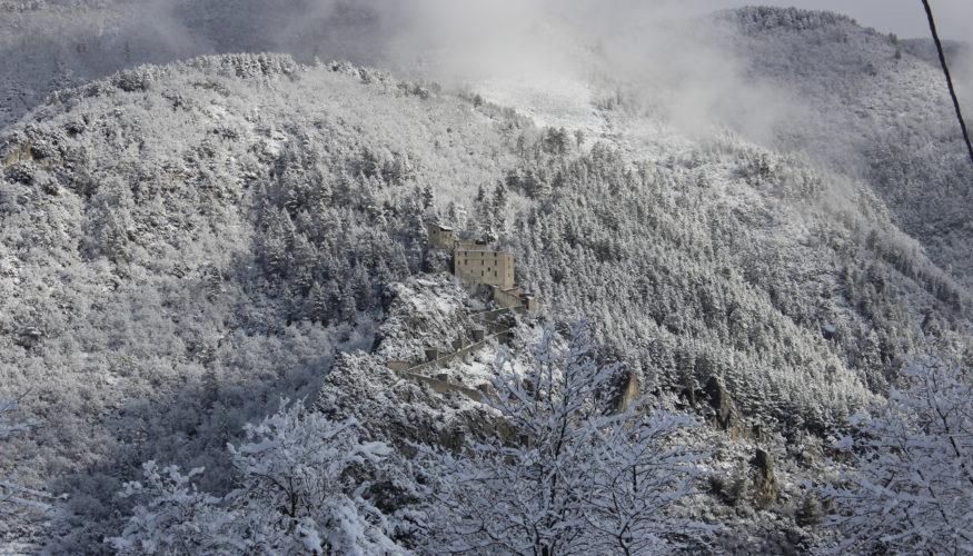 maison citadelle neige
